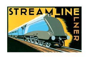 Streamline Train by Brian James