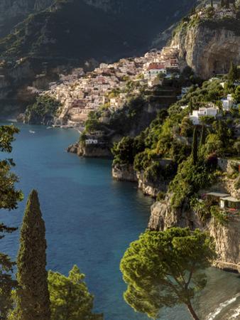 Amalfi Coast looking toward Positano, Campania, Italy by Brian Jannsen