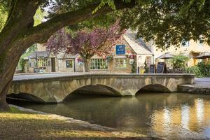 Bourton-On-The-Water, Cotswolds, Gloucestershire, England by Brian Jannsen