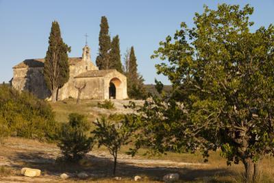 Early Evening Sun, Church, Chapelle Saint-Sixte, Eygalieres Provence, France by Brian Jannsen