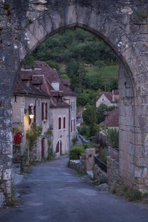 Entry Gate to Medieval Town Saint-Cirq-Lapopie, Midi-Pyrenees, France by Brian Jannsen