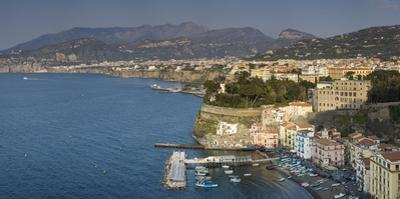Evening over Sorrento, Campania, Italy by Brian Jannsen