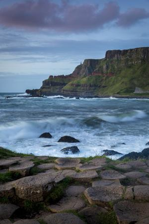 Evening over the Giant's Causeway and the Cliffs of Northern County Antrim, Northern Ireland, Uk by Brian Jannsen