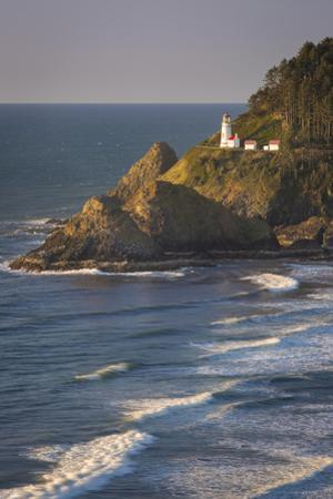 Heceta Head Lighthouse Along the Oregon Coast, USA by Brian Jannsen