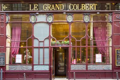 Le Grand Colbert Restaurant in the 2nd Arrondissement, Paris, France by Brian Jannsen