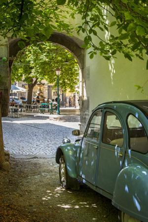 Les Deux Chevaux. Place Favier, Saint Remy De-Provence, France by Brian Jannsen