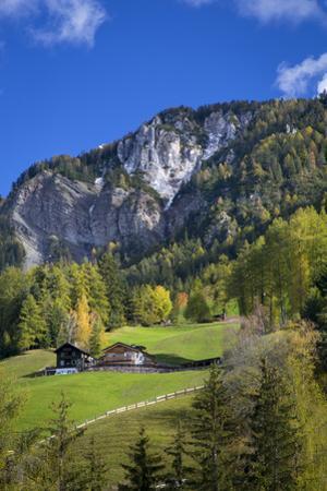 Mountain Home, Dolomites, Val Di Funes, Trentino Alto Adige, Italy by Brian Jannsen