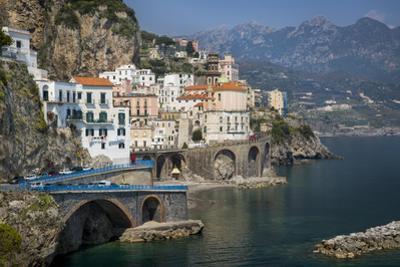 Seaside Town of Atrani Near Amalfi, Campania, Italy by Brian Jannsen