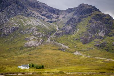 Solitary Small Home in Scottish Highlands Near Glencoe, Scotland, UK by Brian Jannsen