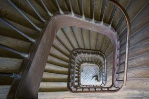 Staircase Near Rue de Faubourg Saint-Antoine, Paris, France by Brian Jannsen