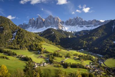 Val di Funes, Santa Maddalena, Dolomites, Trentino-Alto-Adige, Italy by Brian Jannsen