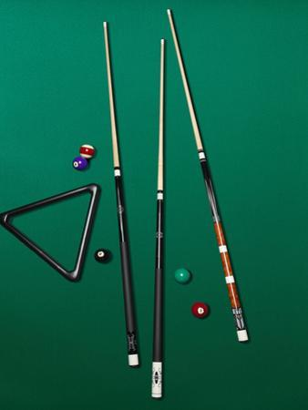 Pool Table Set Up by Brian Klutch