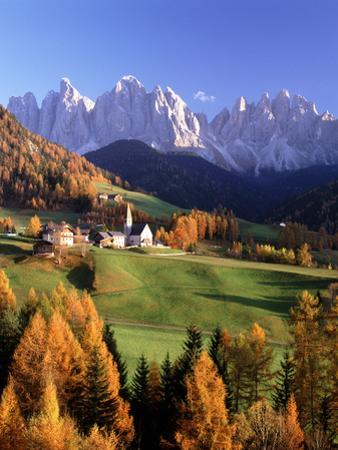 Val Di Funes and the Dolomites by Brian Lawrence