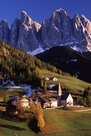 Valdi Funes and the Dolomites by Brian Lawrence