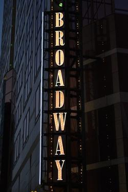 Broadway Sign by Brian Moore