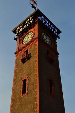 Clock Tower by Brian Moore