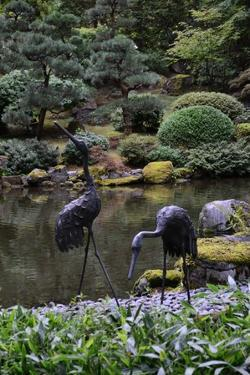 Japanese Gardens V by Brian Moore