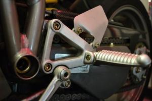 Motorcycle III by Brian Moore