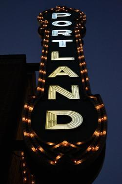 Portland Sign by Brian Moore