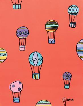 Balloons - Red by Brian Nash