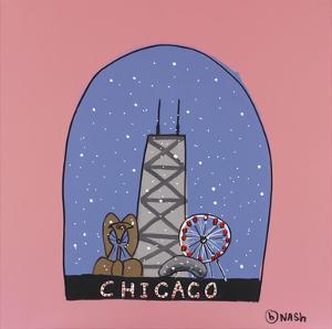 Chicago Snow Globe by Brian Nash