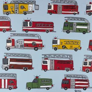 Fire Trucks by Brian Nash