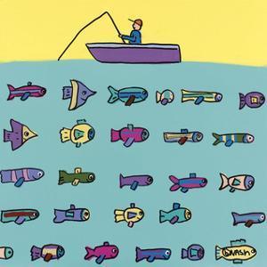 Fishin' by Brian Nash
