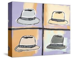 Four Hats by Brian Nash