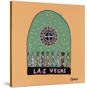 Las Vegas Snow Globe by Brian Nash