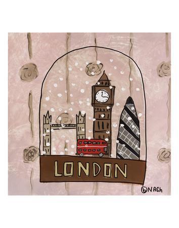 London Snow Globe