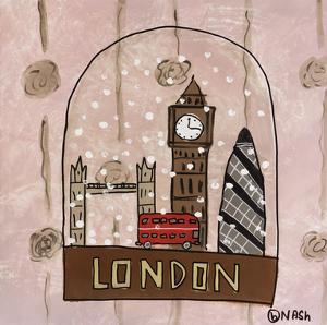London Snow Globe by Brian Nash