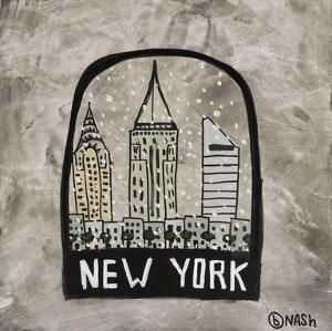 New York Snow Globe by Brian Nash