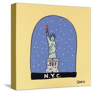 NYC Snow Globe by Brian Nash