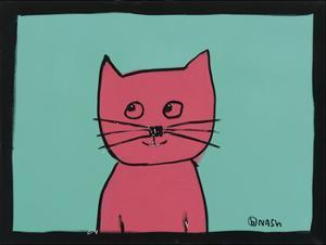 Pink Cat by Brian Nash