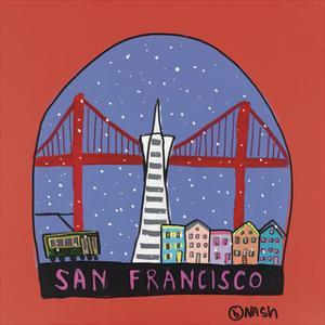 San Francisco Snow Globe by Brian Nash