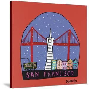 San Francisco Snow Globe by Brian Nash