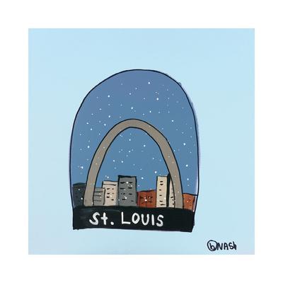 St. Louis Snow Globe