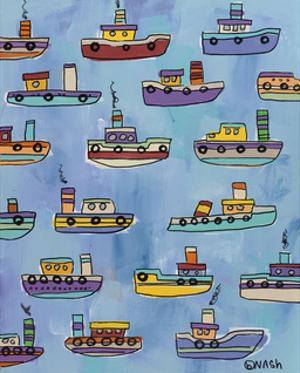 Tugboats by Brian Nash