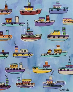 Tugboats by Brian Nash