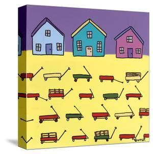 Wagons by Brian Nash