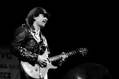 Carlos Santana, Rfh London, 1988 by Brian O'Connor