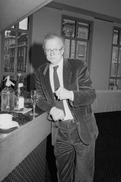Dennis Potter, Bafta, London, 1990 by Brian O'Connor