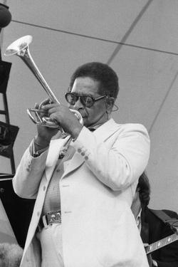 Dizzy Gillespie, Capital Jazz, Alexandra Palace, 1979 by Brian O'Connor