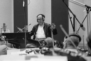 Henry Mancini, Cts Studios, Wembley, London, 1990 by Brian O'Connor