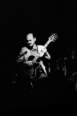 Joe Pass, Ronnie Scotts, Soho, London, 1984 by Brian O'Connor