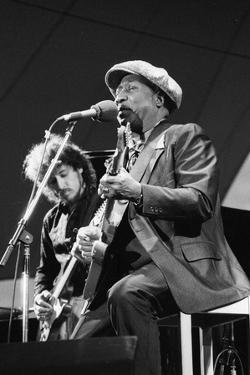 Muddy Waters, American Blues Musician, Capital Jazz, 1979 by Brian O'Connor
