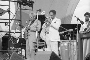 Sonny Stitt and Dizzy Gillespie, Capital Jazz, 1979 by Brian O'Connor