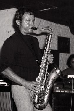 Stan Getz, Ronnie Scotts, London, 1971 by Brian O'Connor