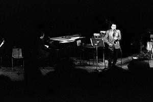Stan Getz, Royal Festival Hall, London, 1988 by Brian O'Connor