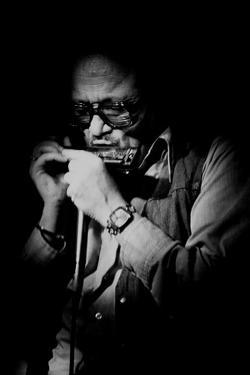Toots Thielemans, Belgian Jazz Musician, Ronnie Scotts, London, 1978 by Brian O'Connor